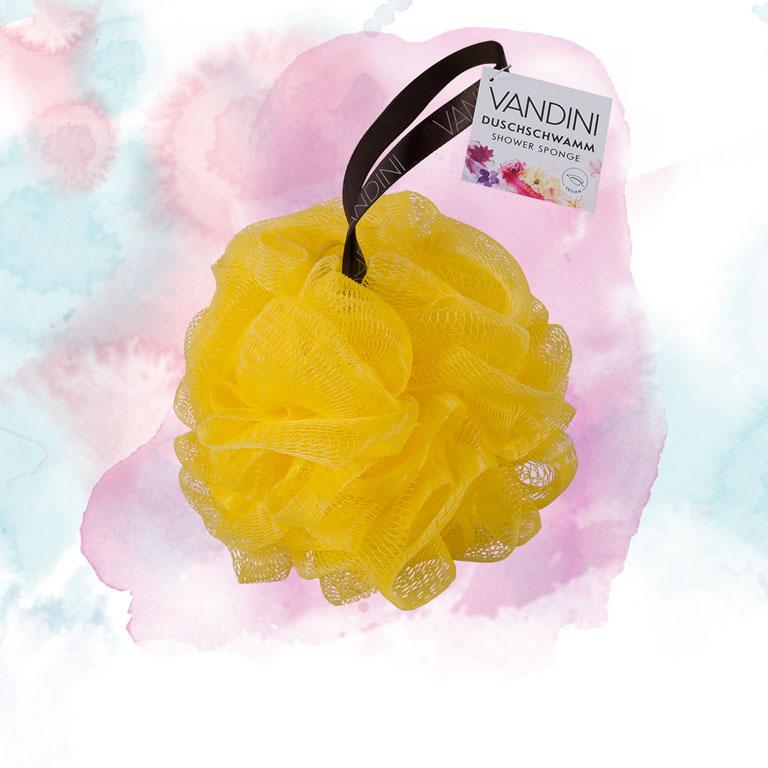 Duschschwamm gelb
