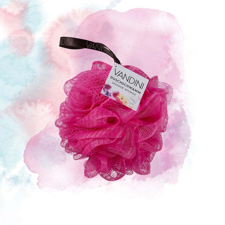 Duschschwamm pink